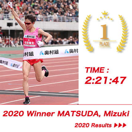 Winner MATSUDA, Mizuki